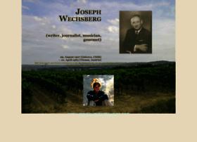 josephwechsberg.com