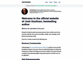 joshkaufman.net