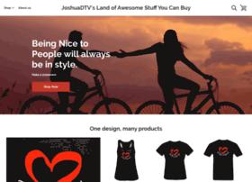 joshuadtv.spreadshirt.com