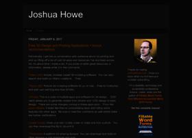 joshuahowe.com