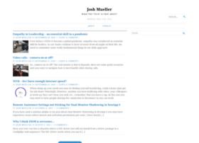 joshuasmueller.wordpress.com