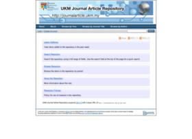 journalarticle.ukm.my