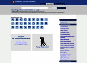 journaldatabase.info