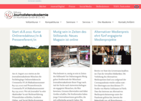 journalistenakademie.de