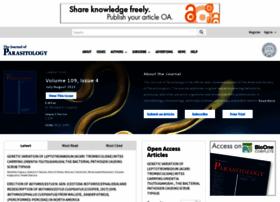 journalofparasitology.org