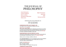 journalofphilosophy.org