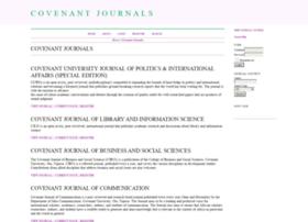 journals.covenantuniversity.edu.ng