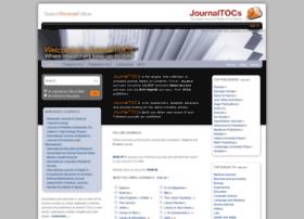 journaltocs.hw.ac.uk