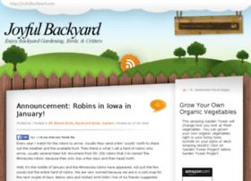 joyfulbackyard.com
