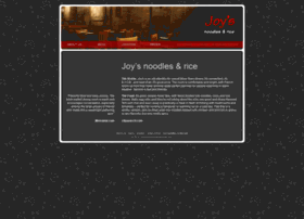 joysnoodlesandrice.com