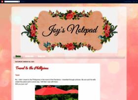 joysnotepad.blogspot.sg