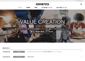 jp.onkyo.com