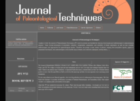 jpaleontologicaltechniques.org