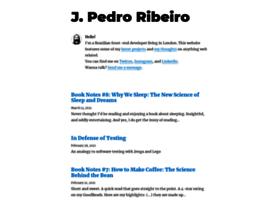jpedroribeiro.com