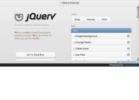 jqexercise.droppages.com
