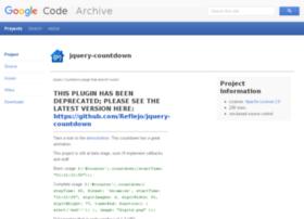 jquery-countdown.googlecode.com