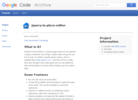 jquery-in-place-editor.googlecode.com