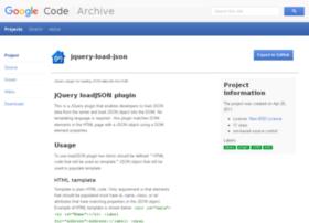 jquery-load-json.googlecode.com