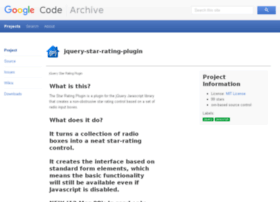 jquery-star-rating-plugin.googlecode.com