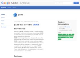 jsc3d.googlecode.com