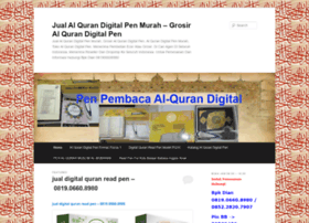jualalqurandigitalpenmurah.wordpress.com