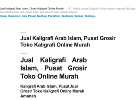 jualkaligrafi.com
