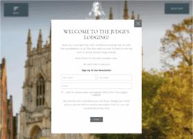 judgeslodgingsyork.co.uk
