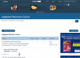 judgmentrecoverycourse.lefora.com