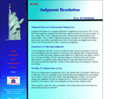judgmentresolution.net