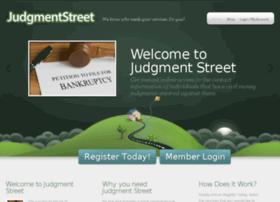 judgmentstreet.com