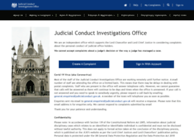 judicialconduct.judiciary.gov.uk