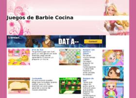 juegosdebarbiecocina.com