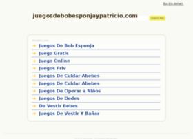 juegosdebobesponjaypatricio.com