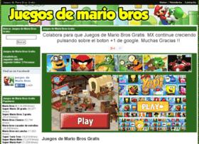 juegosdemariobrosgratis.com.mx