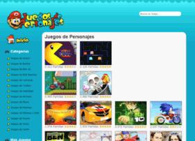 juegosdepersonajes.com