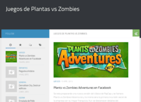 juegosdeplantasvszombies.com