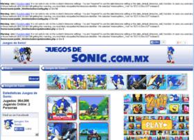 juegosdesonic.com.mx
