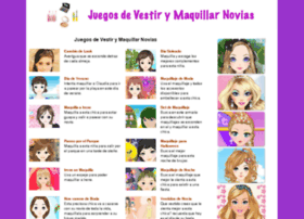 juegosdevestirymaquillarnovias.com