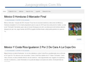 juegosgratisya.com.mx