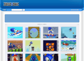 juegosonic.com