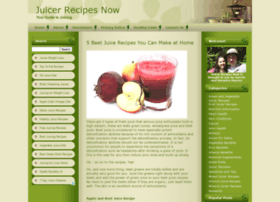juicerrecipesnow.com