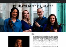 juilliardquartet.org