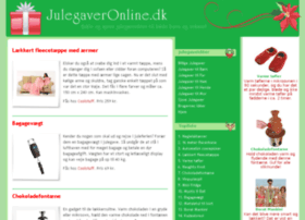 http://julegaveronline dk