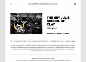 juliemackinnonceramics.com