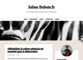 juliendubois.fr