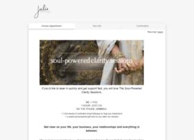 juliesantiago.acuityscheduling.com