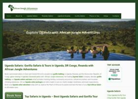 junglesafarisuganda.com