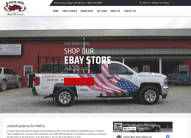 juniorsinnautoparts.com