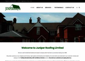 juniperroofing.co.uk