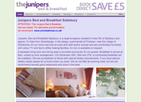junipersbedandbreakfast.co.uk
